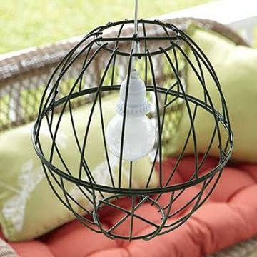 como hacer una lampara facil diseños