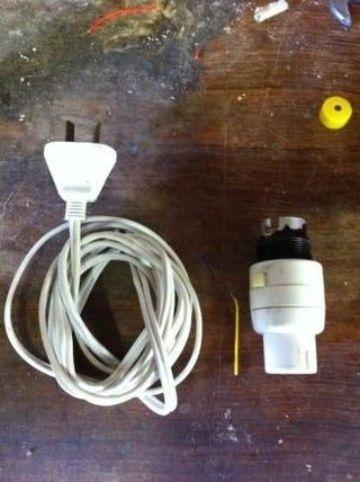 como hacer una lampara facil paso a paso