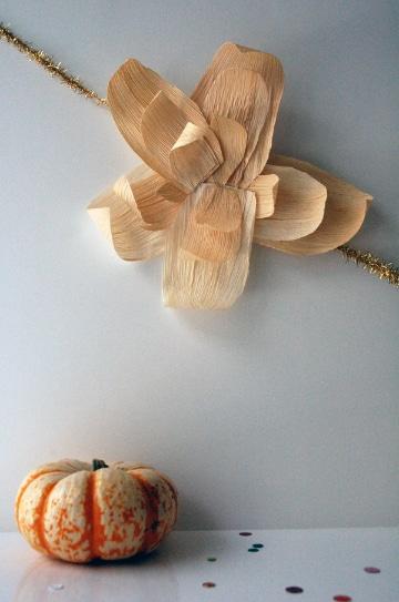 ideas de manualidades con hojas de maiz