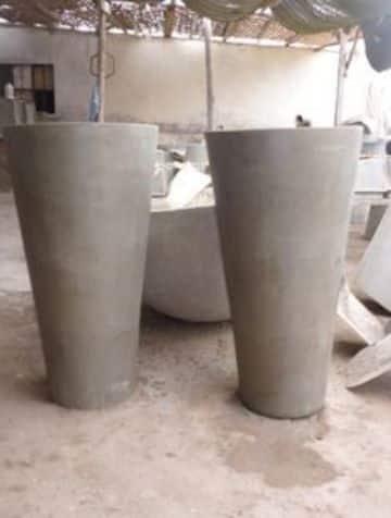 manualidades con cemento paso a paso para la casa