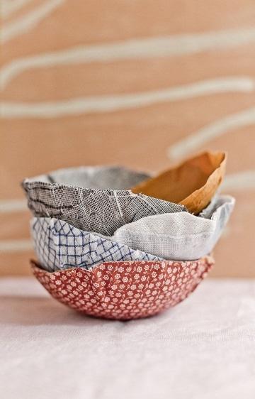 manualidades con papel mache para la cocina