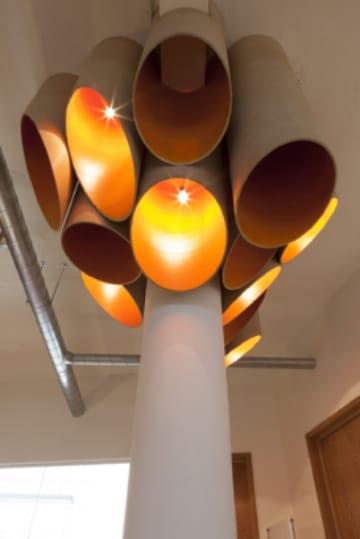 manualidades con tubos de pvc para decorar