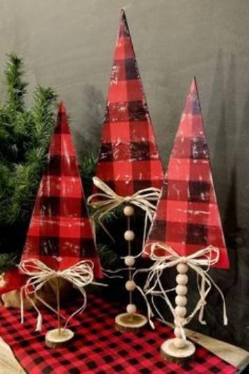 manualidades navideñas con foami para mesas