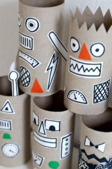 manualidades para niños con cartulina divertidas