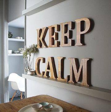 Frases en madera para colgar en la habitacion