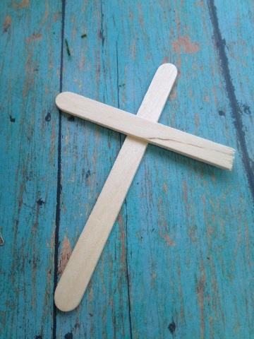 manualidades cristianas con reciclajes de palitos de helado