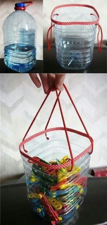 manualidades con bidones de 5 litros en casa