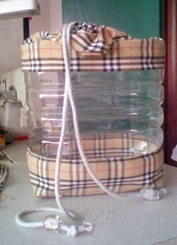 manualidades con bidones de 5 litros paso a paso
