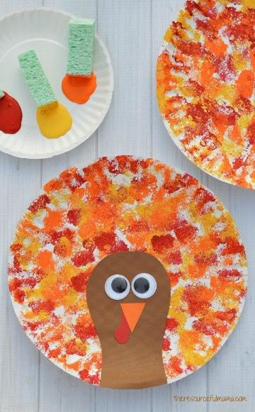 manualidades con papel craft para el jardin de infancia