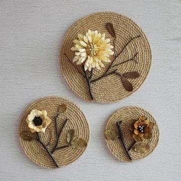 manualidades con hilo sisal decorativas