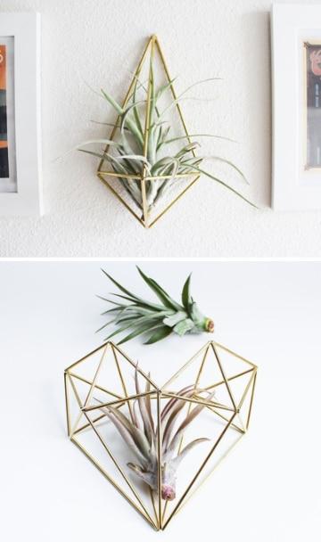 manualidades con hojas de plantas para decorar