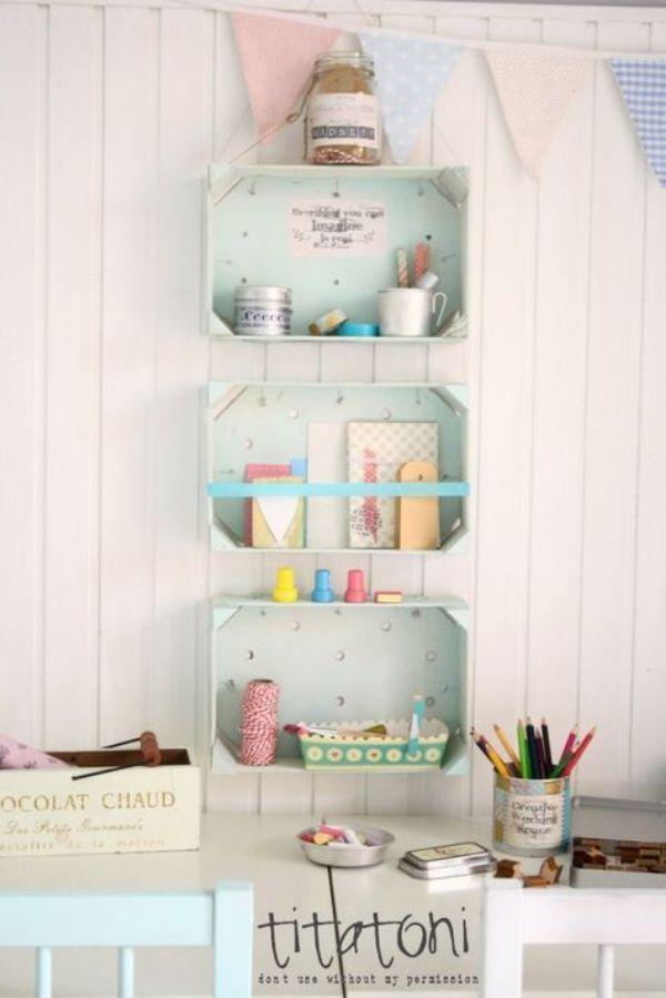 cajas decoradas para niños dormitorio