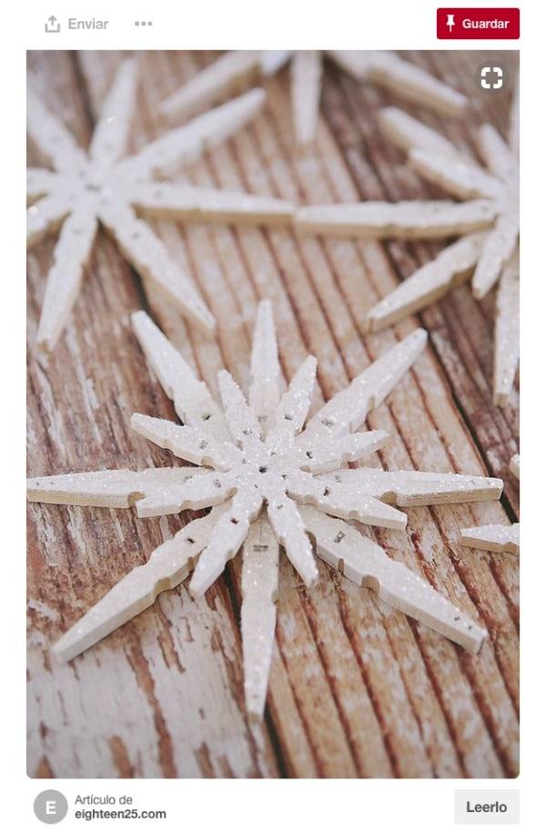 cosas hechas con pinzas de madera paso a paso