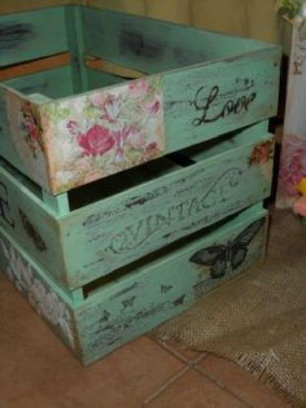 manualidades con cajas de tomate sencillas