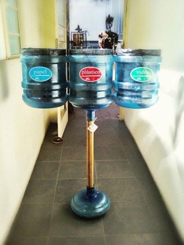 manualidades con garrafones de agua increibles