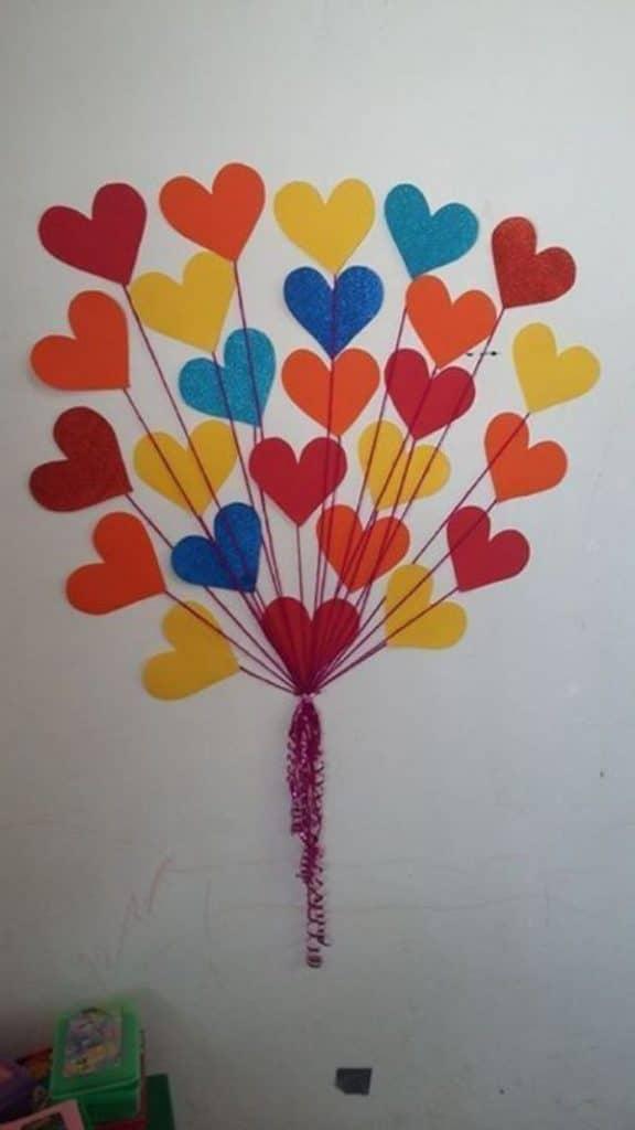 manualidades de amor y amistad con papel