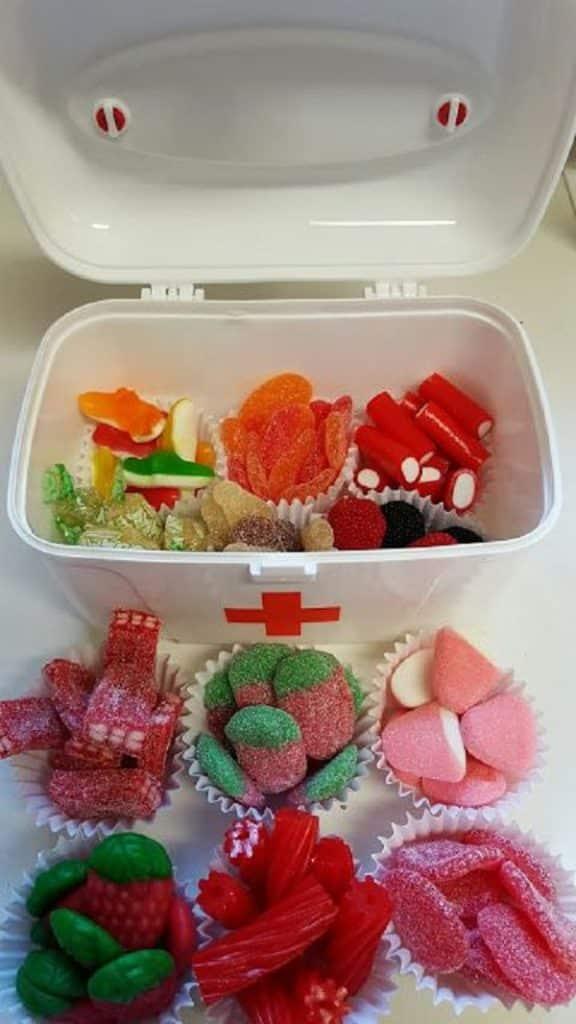 manualidades para el dia del amigo con dulces
