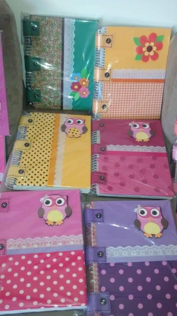 manualidades para vender en el colegio con cuadernos