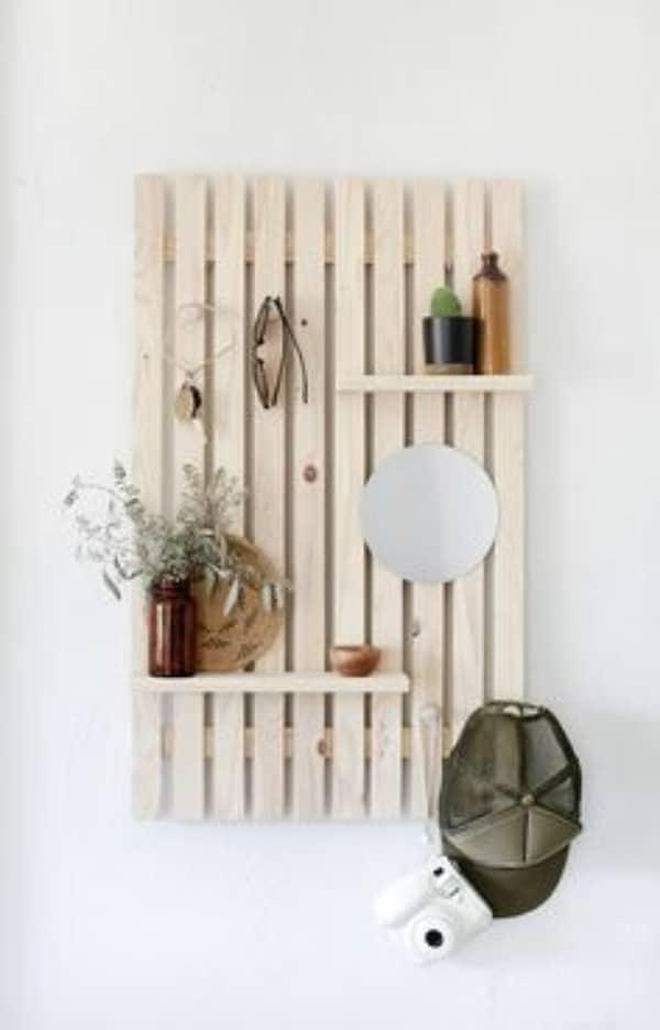 manualidades con listones de madera DIY