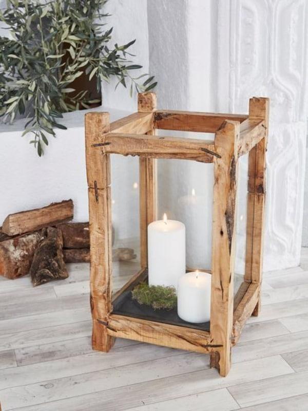 manualidades con listones de madera sencillas
