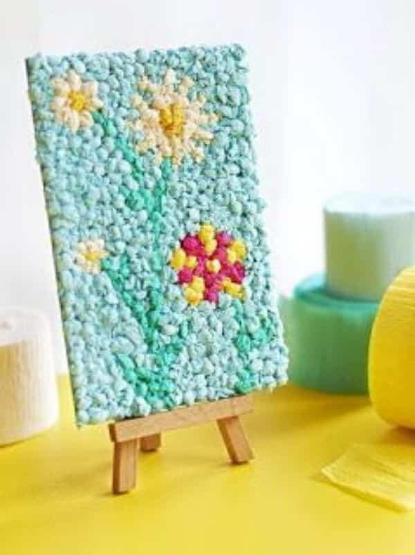 manualidades con papel pinocho para niños