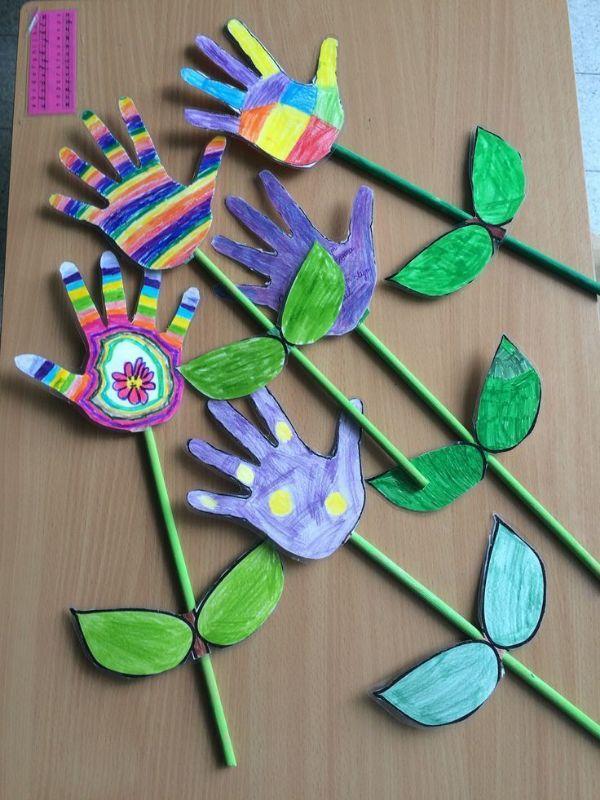 manualidades en casa para niños de jardin