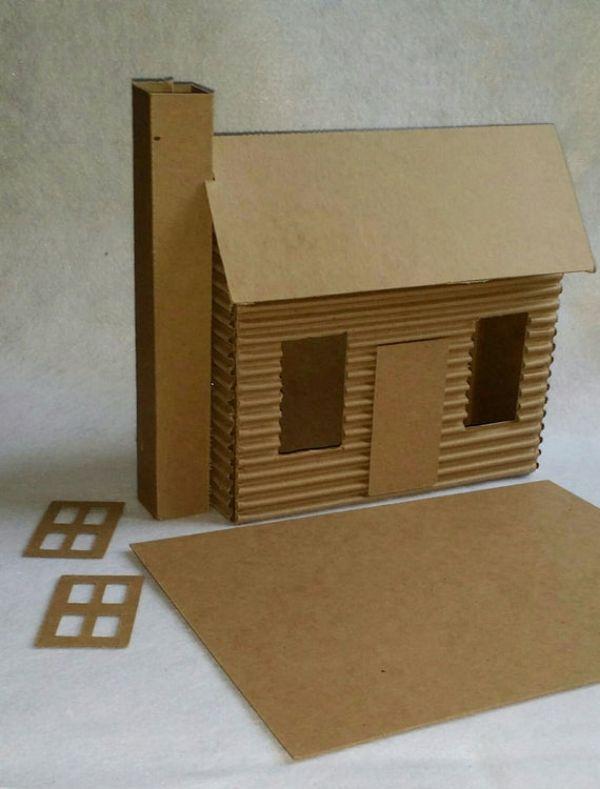 manualidades hechas de carton para niños