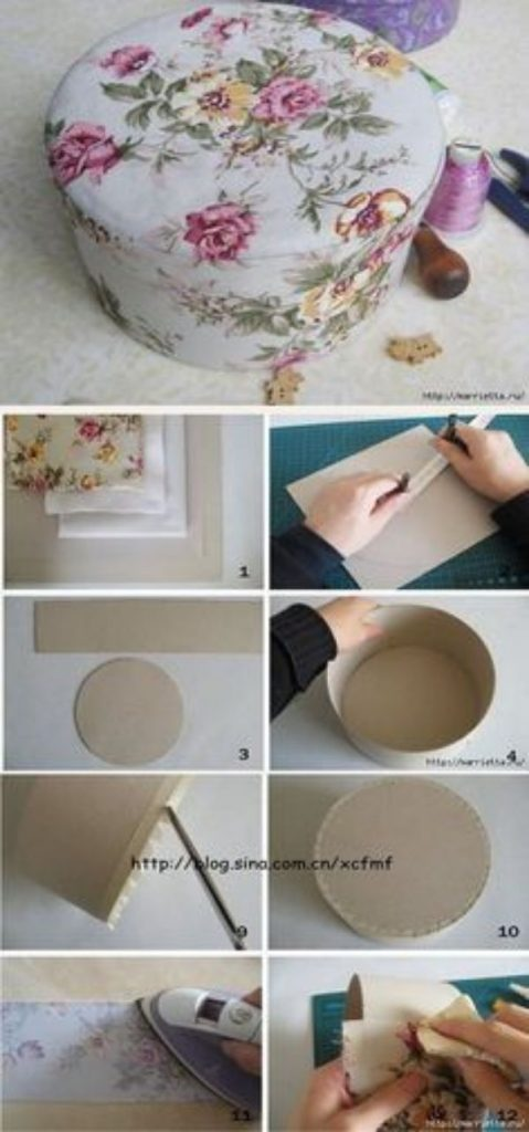 manualidades hechas de carton para ordenar