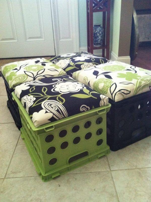 manualidades con espuma de colchón ingeniosas