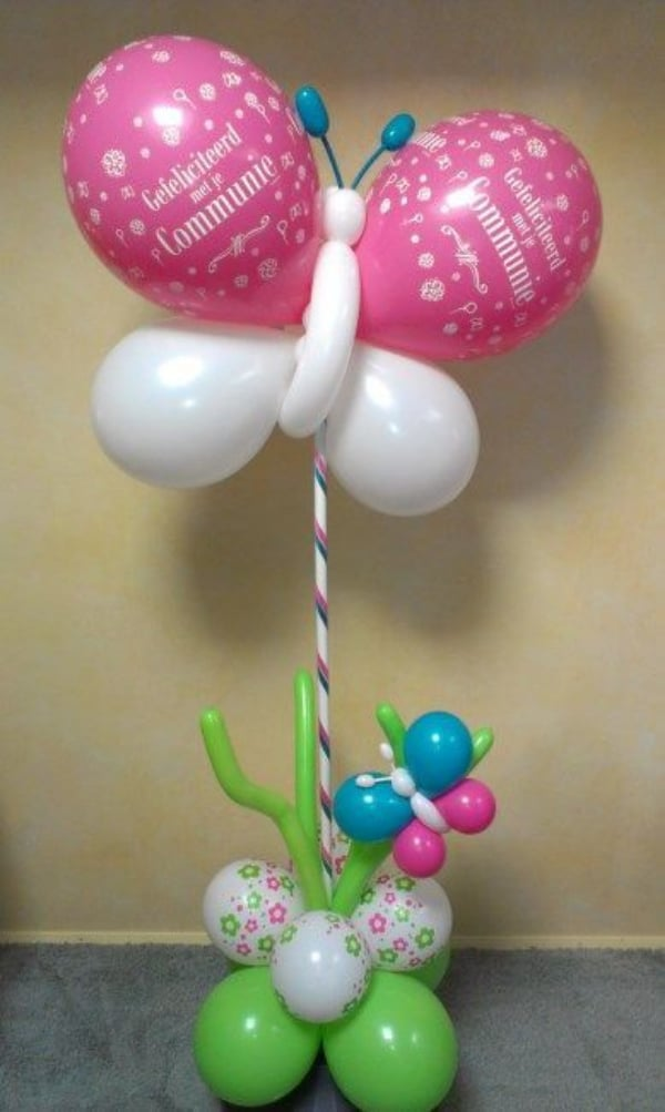 manualidades con globos largos faciles