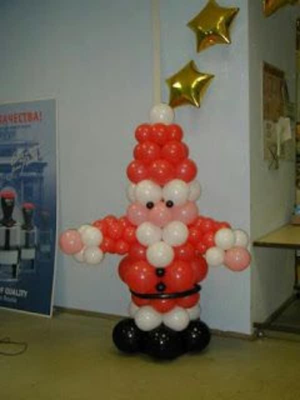 manualidades con globos largos para decorar