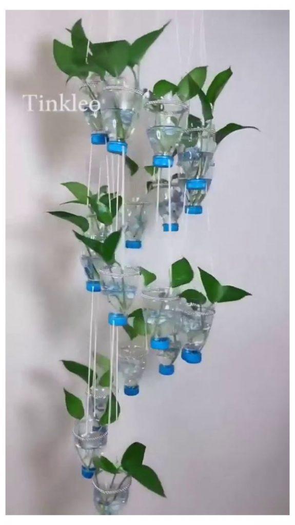 Floreros de botellas plasticas macetas