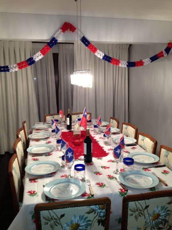 adornos colgantes para fiestas patrias en casa