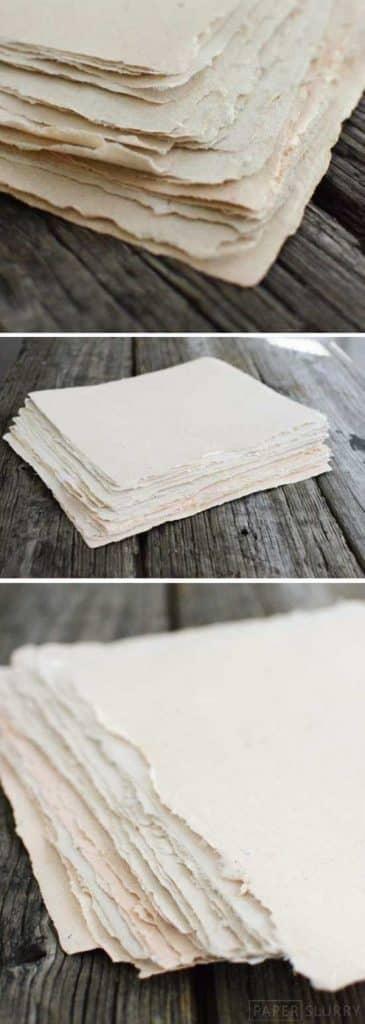 libros con papel reciclado ideas