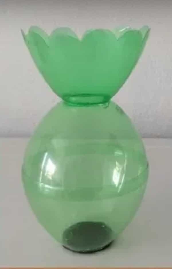 manualidades con botellas plasticas sencillas