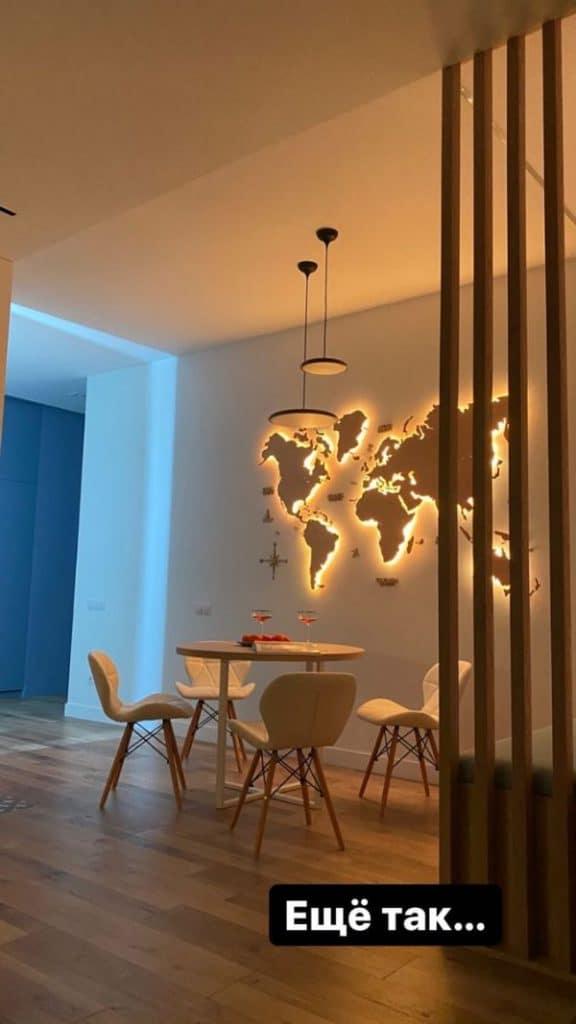mapas de madera para pared simples