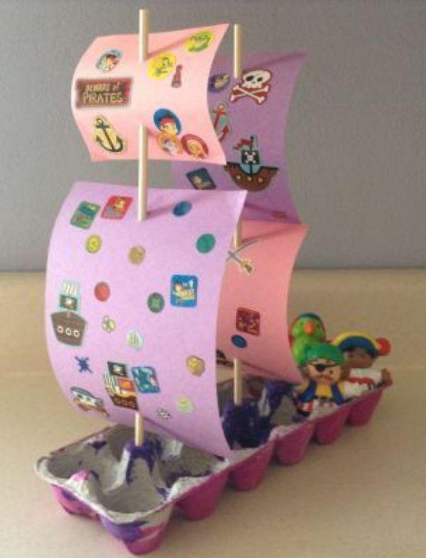 manualidades de reciclaje para niños divertidas