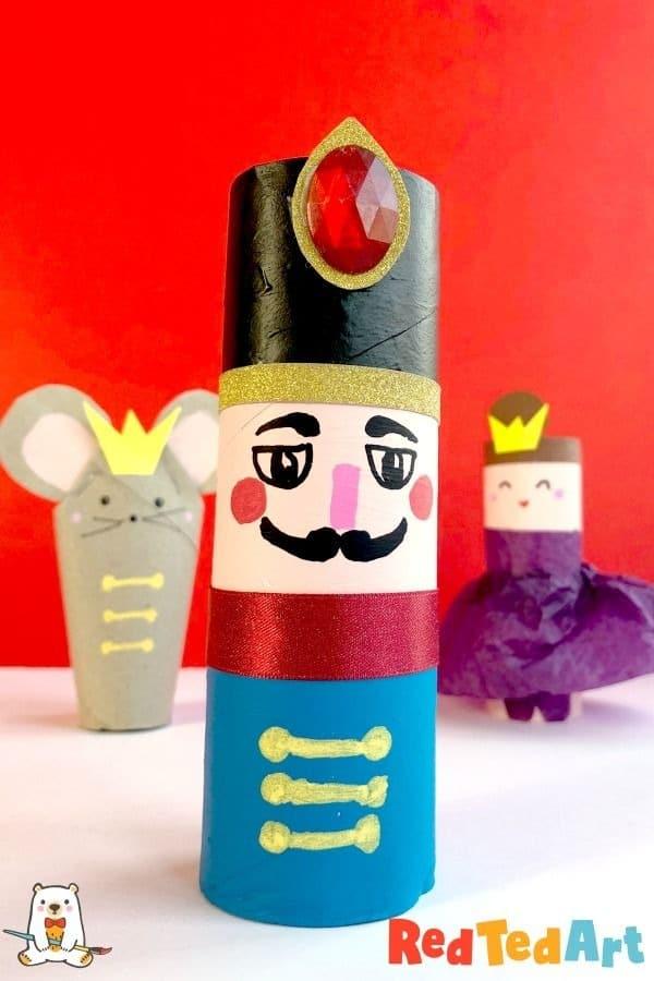 raton con tubo de papel higienico ideas