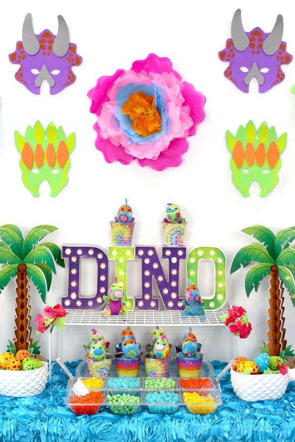 globos de dinosaurios para cumpleaños ideas
