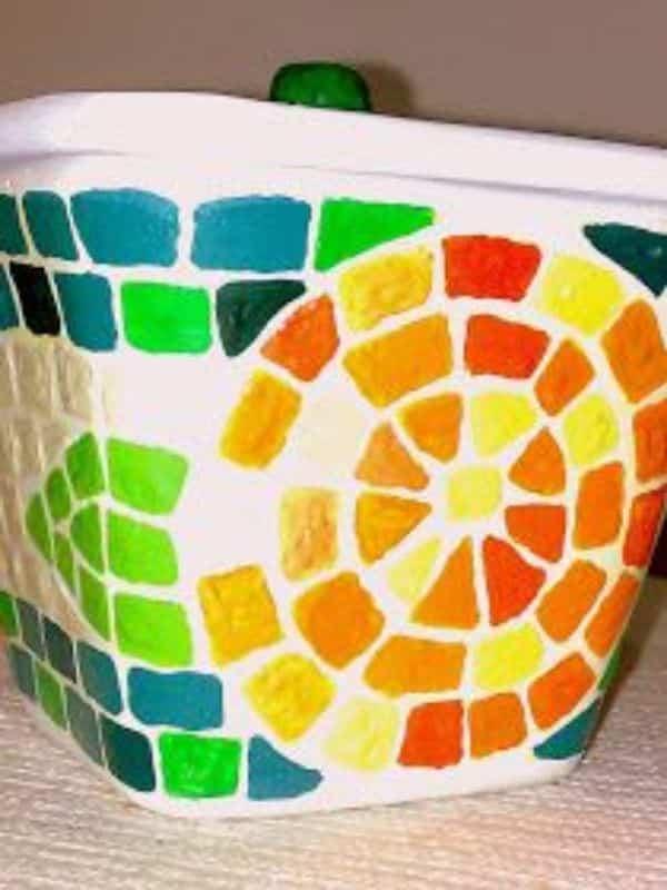 manualidades con icopor reciclado creativos