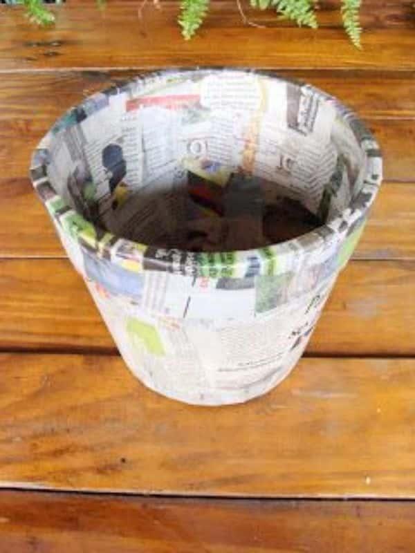 manualidades con icopor reciclado para el jardin