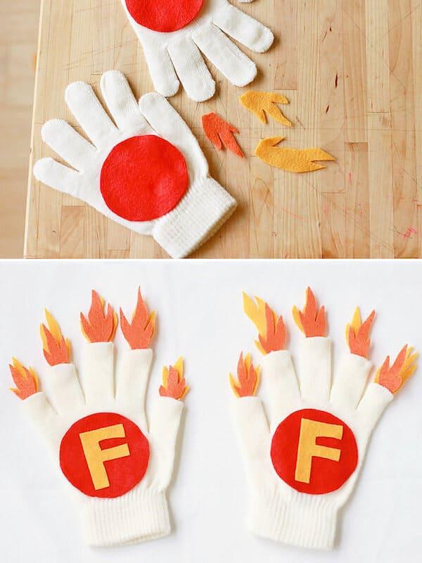 manualidades con guantes de goma