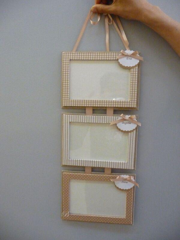 manualidades con fotos y cartulinas