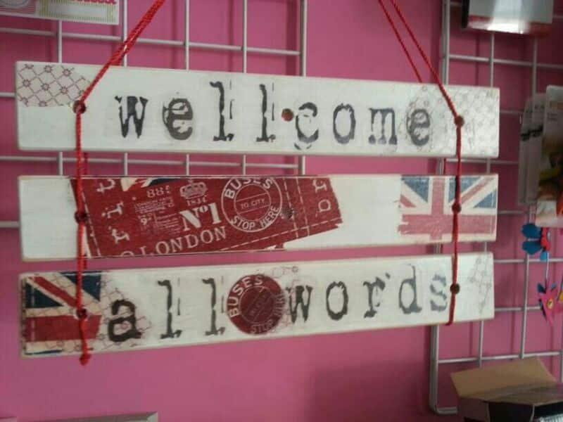 carteles de bienvenida fáciles